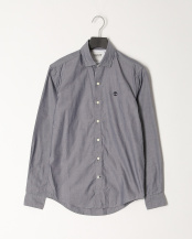 Dark Sapphire YD●AF LS Lane River Oxford Shirt Slim○TB0A1UQ9B681