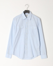 Skyway YD●AF TFO LS Merrimack River Lightweight Chambray Shirt (Slim)○TB0A1VV8B021
