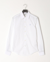White●AF LS Eastham River Stretch Poplin Solid Shirt Fitted○TB0A213B1001