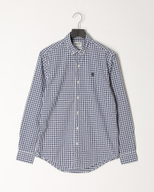 Dark Denim YD●AF LS Suncook River Poplin Macro Gingham Regular○TB0A2157G661