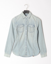 Bleach Indigo●AF Forest Rvr Denim Shirt○TB0A12994421