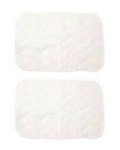ホワイト●ガーゼ ピローパッド 2枚セット○0035-1050