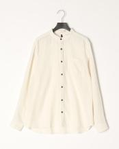 シロ●ネルムジバンドカラーシャツ○204002H