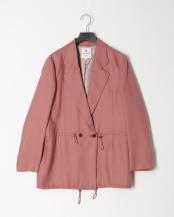 ピンク●ドロストコードテーラードジャケット○3036203