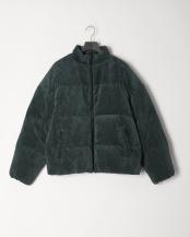 GREEN●コーデュロイダウンジャケット○AA97-17A010