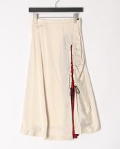 01/white●Acetate satin skirt○TP01-FG240