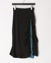 26/black●Acetate satin skirt○TP01-FG240