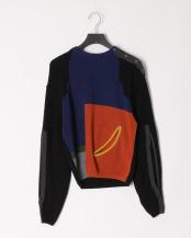 26/black●Fringe knit pullover○TP01-XN207