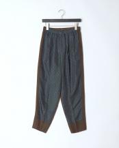 09/khaki●Jacquard easy pants○TV01-FF327