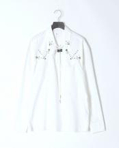 01/white●Typewriter western shirt○TV01-FJ302