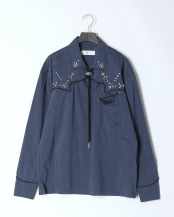 13/navy●Typewriter western shirt○TV01-FJ302