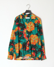 10/green●Cupra cotton print shirt○TV01-FJ304