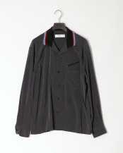 25/charcoal●Satin western shirt○TV01-FJ322