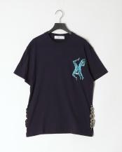 13/navy●Side concho T-shirt○TV01-JK341