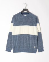 NVY●WASHED PILE CREW○QPO201002
