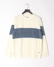WHT●WASHED PILE CREW○QPO201002