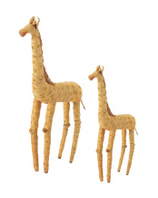 GIRAFFE●COIR ANIMAL   GIRAFFE L × S SET○002591/002606