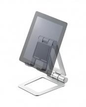 【みんなが買った人気アイテム】「タブレット用スタンド」 アルミスタンド/角度調節可能/コンパクト○TB-DSCHAL