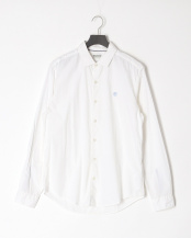 White YD●LS Suncook stretch poplin○TB0A1NAHA941