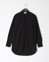 Black●AF LS Suncook River long lenght solid shirt○TB0A1NMR0011