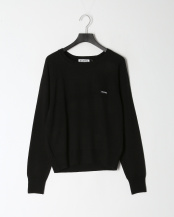BLACK●[BASIC KNIT TOP]○03194330