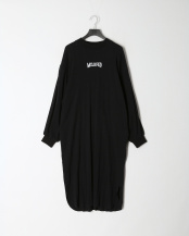BLACK●[GATHERED SLEEVE DRESS]○03194910
