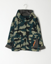 55/緑系H(グリーン)●SUPERLADY カモフラ柄ミックスポンチジャケット○39199813