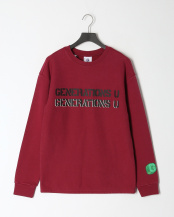 レッド●MEN'S L/SLV SWEATSHIRT○M0GMK1K7704