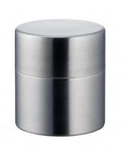 ステンレス茶筒 つや消し 小○4938897011112