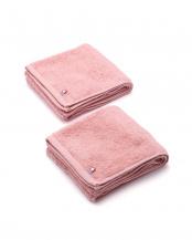ピンク●西川 ふわふわ糸の今治タオル フェイスタオル2枚セット○TT20000064×2