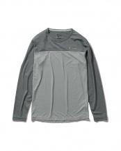 ライトグレー●[吸汗速乾][防虫][UVカット]SCハイブリッドクルー○5215019
