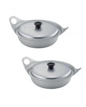 なべやきうどん鍋 2個組○4977906355205