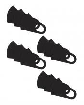 ブラック●消臭フィットマスク 同色12枚組○消臭フィットマスク 同色12枚組