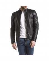 BLACK●LEATHER JACKET○ARDESCO