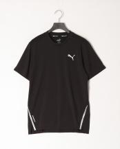 PUMA BLACK●ラン ライト レイザーカット SS Tシャツ○519976