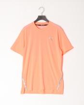 NRGY PEACH●ラン ライト レイザーカット SS Tシャツ○519976
