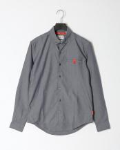 Dark Sapphire YD●AF LS Oxford Commuter Shirt Slim with Outlast○TB0A1WP8B681