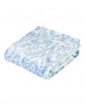 ブルー●西川 超ロングサイズフランネル毛布 洗える 軽量○2RL1307