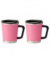 PINK●Double mug 2pcs set○DM18-30/DM18-30