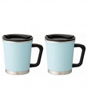 ICE BLUE●Double mug 2pcs set○DM18-30/DM18-30