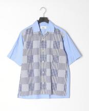 サックス●オープンカラーシャツ○9-0086-2-71-004