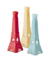 エッフェル塔フラワーベース 3色セット Sサイズ○GLVAS-SEIFXC