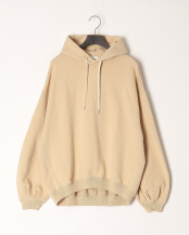 SW36/I.CREAM●PUFF SLV SWEAT PARKA○L201HJPO0203B