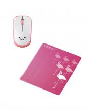 「IRマウス」「マウスパッド」セット○M-IR07DRSPN/MP-111C