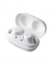 ホワイト●「Bluetoothイヤホン」 トゥルーワイヤレス/超小型/耳にフィット○LBT-TWS10