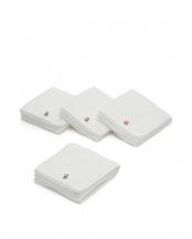 ホワイト●フェイスタオル4枚セット○TPC12FT/TPC12FT/TPC12FT/TPC12FT
