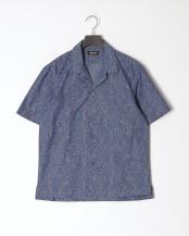 ブルー系●カジュアルシャツ○J1M15352