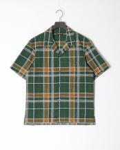 グリーン系●カジュアルシャツ○J1M15364