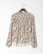 ホワイト● 花柄ブラウス○301-20229