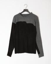 グレー/ブラック●ニット○MLM-1089